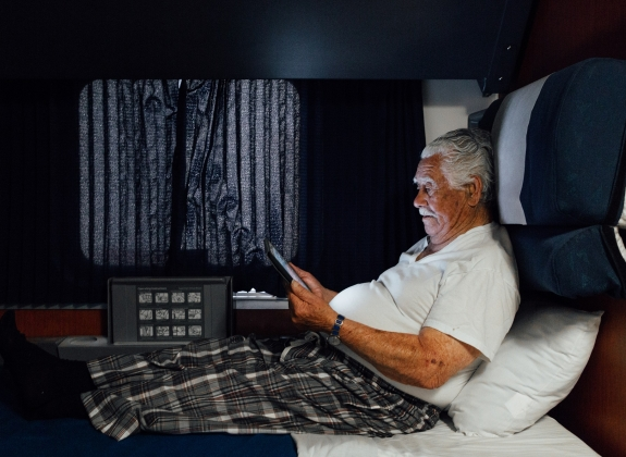 Superliner Bedroom - Senior Man