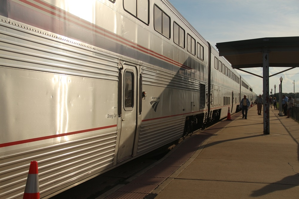 Galesburg Illinois Train Station