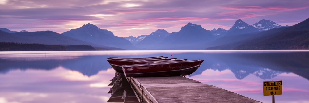 Glacier National Park Lake View